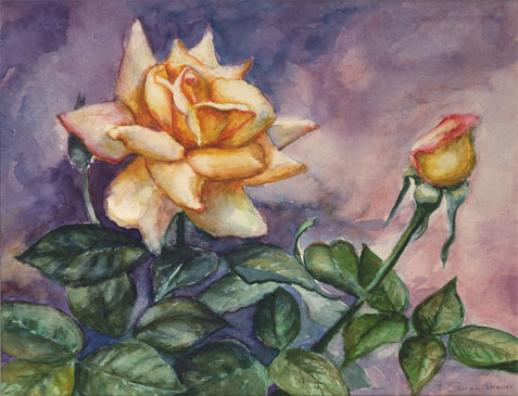 Learn to Paint Using the right subject like My Father's Rose