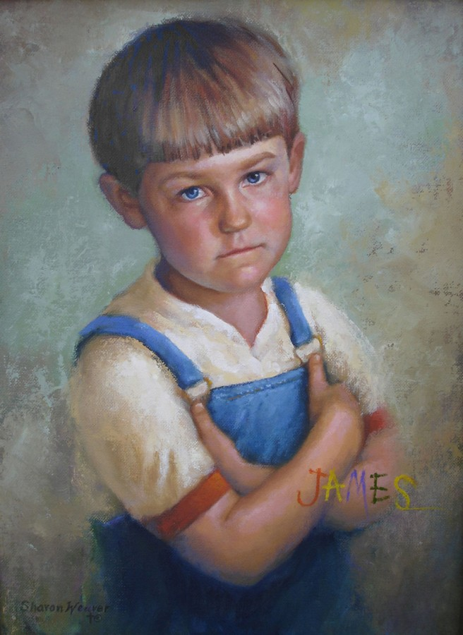 James - Oil - 9 x 12