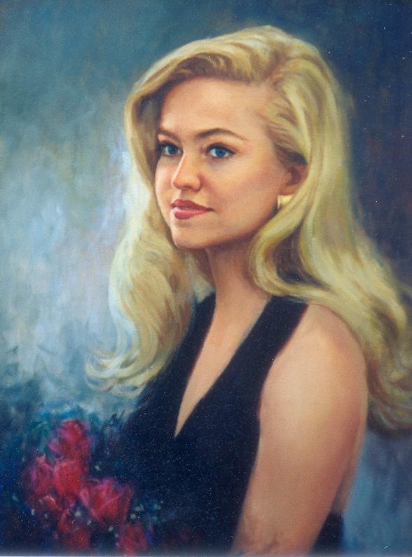 Miss Ohio 1996 - Oil