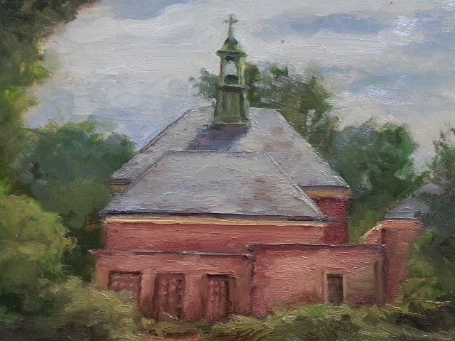 Steeple - Oil - 8 x 10 - Available