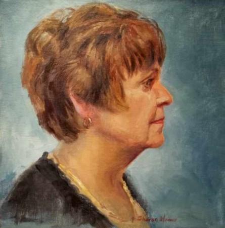 Mary Lou - Oil - 8 x 10