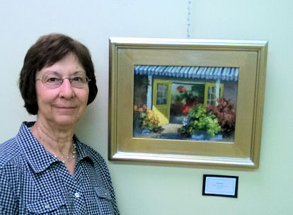 """Sharon's """"Sunlit"""" at Crawford County Arts Council Show"""