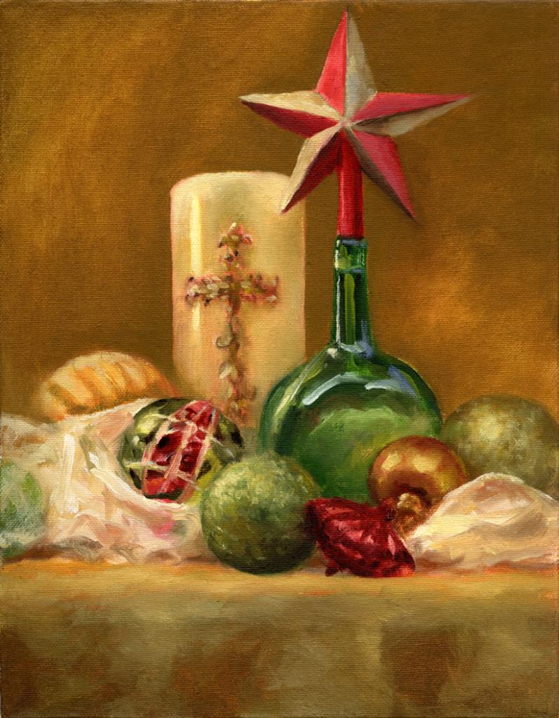 Feliz Navidad - OIL - 11 x 14